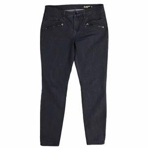 Blank NYC Skinny Classique Black Zip Denim Jeans